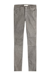 Closed Skinny Suede Pants Grey