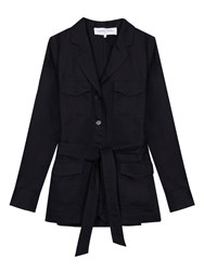 Gerard Darel Coriandre Jacket Midnight Blue