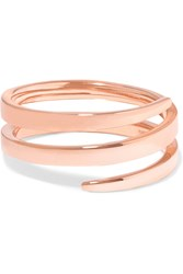 Anita Ko Coil 18 Karat Rose Gold Pinky Ring