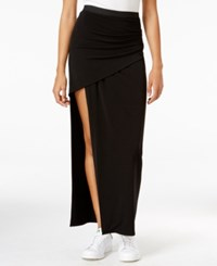 Rachel Roy Ruched Maxi Skirt Only At Macy's Black