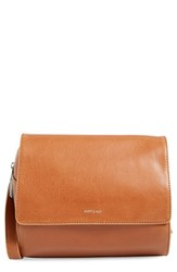 Matt And Nat 'Phi' Cycle Commuter Faux Leather Crossbody Bag Brown Chili