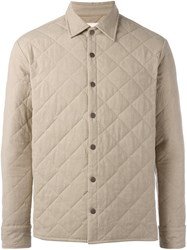 Simon Miller Quilted Shirt Jacket Nude Neutrals
