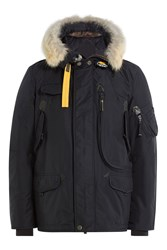 Parajumpers Right Hand Down Jacket With Fur Trimmed Hood Gr. Xxxl