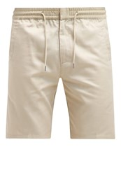 Folk Shorts Stone Grey
