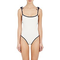 Solid And Striped Women's The Poppy One Piece Swimsuit Navy