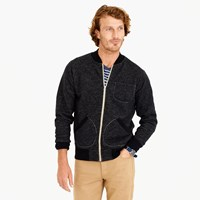 J.Crew Wallace And Barnes Fleece Bomber Jacket