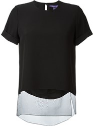 Ralph Lauren Layered T Shirt Black