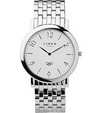 Links Of London Noble Slim Stainless Steel Watch Silver