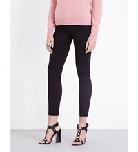 Gucci Panther Skinny High Rise Jeans Blk
