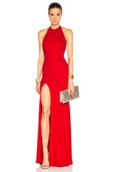 Alexandre Vauthier Gown In Red