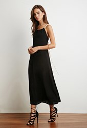 Forever 21 Braided Straps Maxi Dress