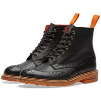 Tricker's End. X Club Sole Stow Boot Black