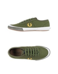 Fred Perry Low Tops And Trainers Emerald Green