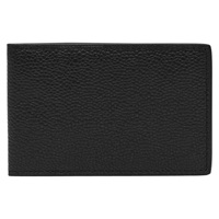 Reiss Leon Leather Fold Wallet Black