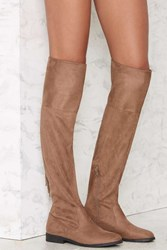 Lust For Life Rascal Suede Boots Beige