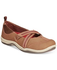 Easy Street Shoes Easy Street Sport Eva Flats Women's Shoes Cocoa