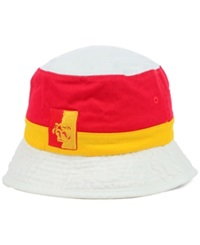 Top Of The World Pittsburg State Gorillas Ncaa Scuttle Bucket Hat Yellow Red White