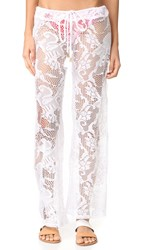 Pilyq Flora Lace Pants Water Lily