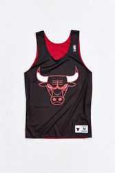 Mitchell And Ness Reversible Bulls Tank Top Black