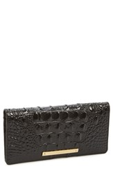 Women's Brahmin 'Ady' Croc Embossed Continental Wallet