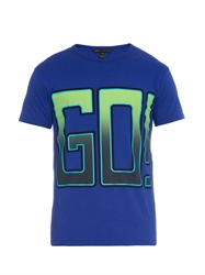 Marc By Marc Jacobs Go Print Cotton Jersey T Shirt