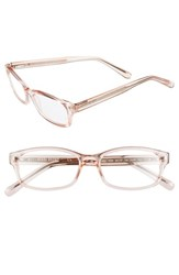 Women's Bobbi Brown 'The Chelsea' 52Mm Reading Glasses Pink Crystal