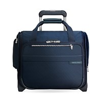 Briggs And Riley Baseline Rolling Cabin Bag Navy