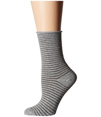 Richer Poorer Hari Heather Grey Women's Crew Cut Socks Shoes Gray