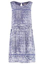 Esprit Summer Dress Bright Blue