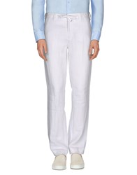 Hartford Trousers Casual Trousers Men White