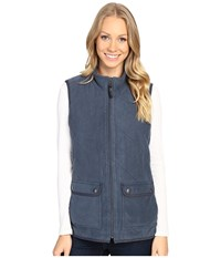Royal Robbins Foxtail Fleece Vest Navy Women's Vest