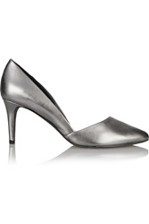 Rebecca Minkoff Brie Metallic Leather Pumps