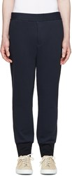 Paul Smith Navy Linen Lounge Pants
