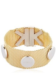 Kenzo Chainmail Bracelet With K Closure Detail