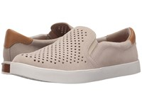 Dr. Scholl's Scout Original Collection Bone Suede Punch Out Women's Flat Shoes Beige