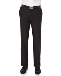 Stefano Ricci Cashmere Silk Flat Front Trousers