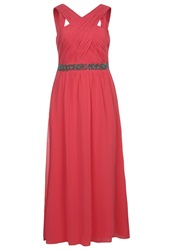 Little Mistress Curvy Cocktail Dress Party Dress Coral