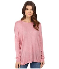 Bench Canvass Long Sleeve Sweater Brandied Apricot Marl Women's Sweater Pink