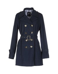 Calvaresi Coats And Jackets Full Length Jackets Women Dark Blue