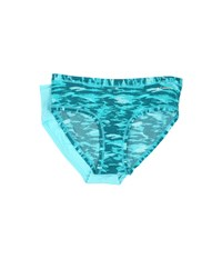 Columbia Micro Mesh Hipster 2 Pack Blue Camo Blue Radiance Women's Underwear