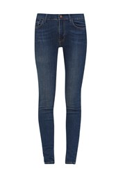 French Connection Rebound 32 Leg Skinny Jeans Blue