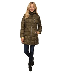 Khombu Down Parka Ivy Green Women's Coat