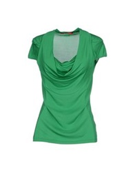 Angelo Marani T Shirts Green