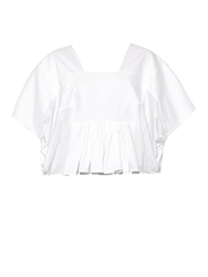 Chloe Embroidered Square Neck T Shirt