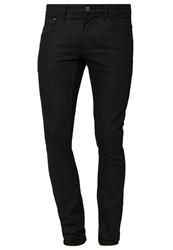Lindbergh Blk White Slim Fit Jeans Black Black Denim