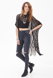 Forever 21 Distressed High Rise Skinny Jeans Dark Navy