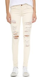 J Brand 620 Mid Rise Super Skinny Jeans Divo
