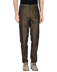 Dries Van Noten Casual Pants Dark Green