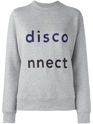Wood Wood 'Wednesday' Sweatshirt Grey