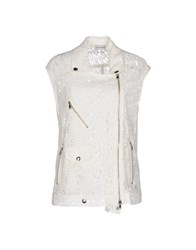 Philosophy Di Alberta Ferretti Coats And Jackets Jackets Women Ivory